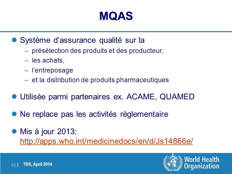 MQAS Système d'assurance qualité sur la