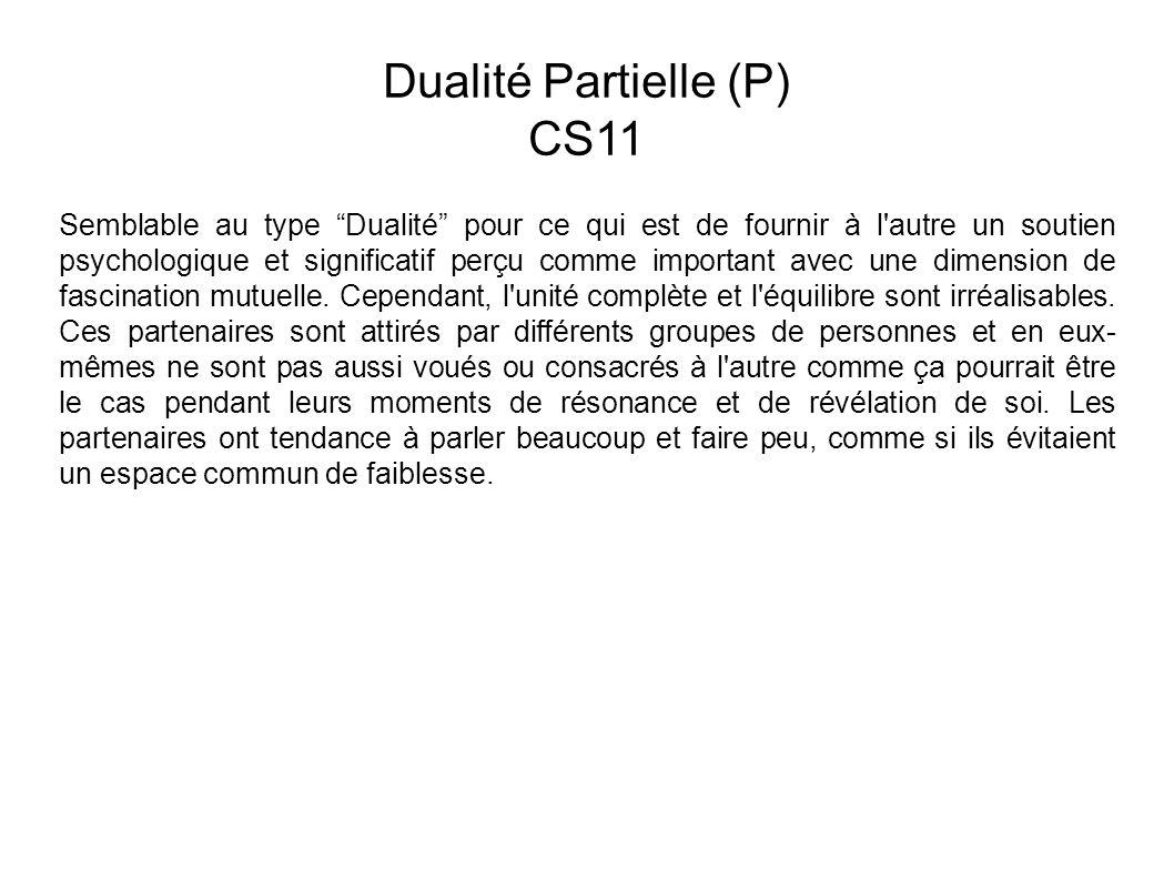 Dualité Partielle (P) CS11