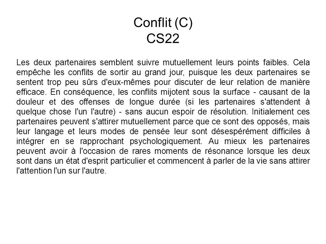 Conflit (C) CS22.