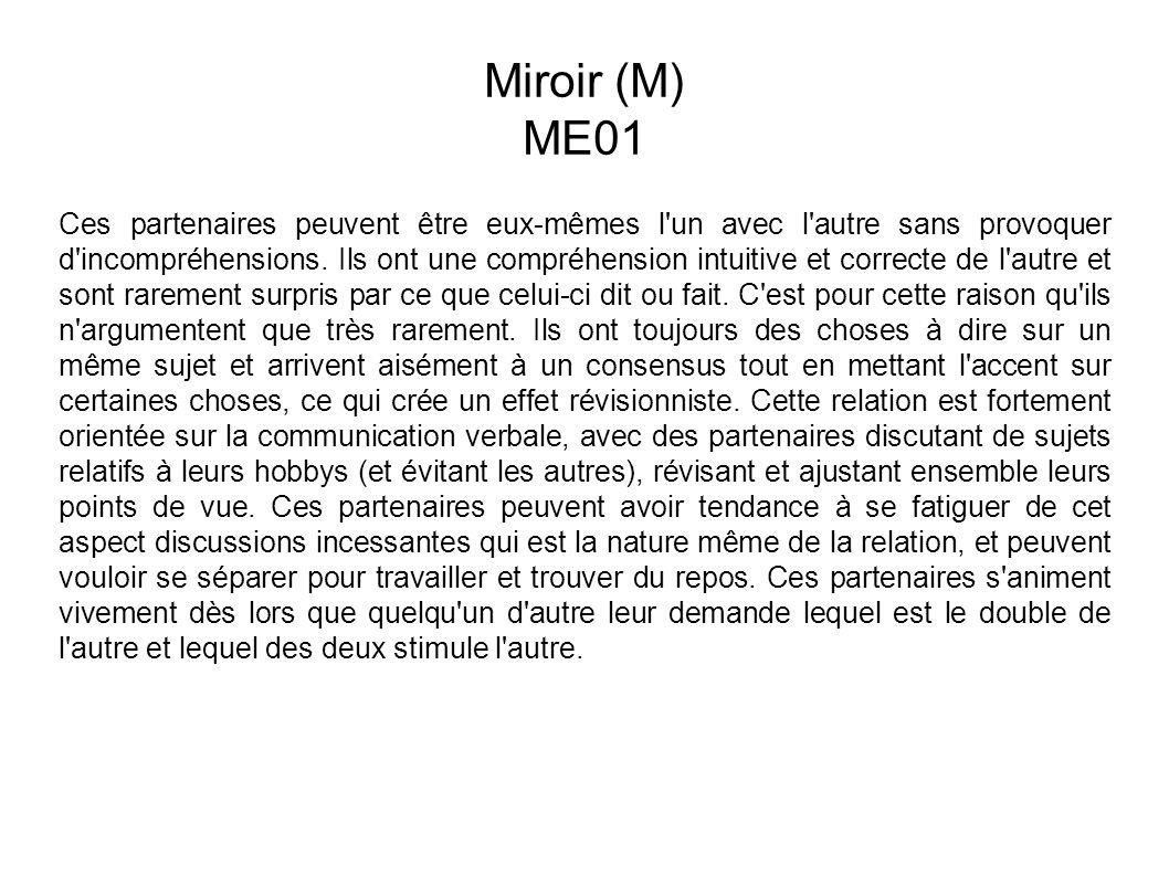 Miroir (M) ME01.