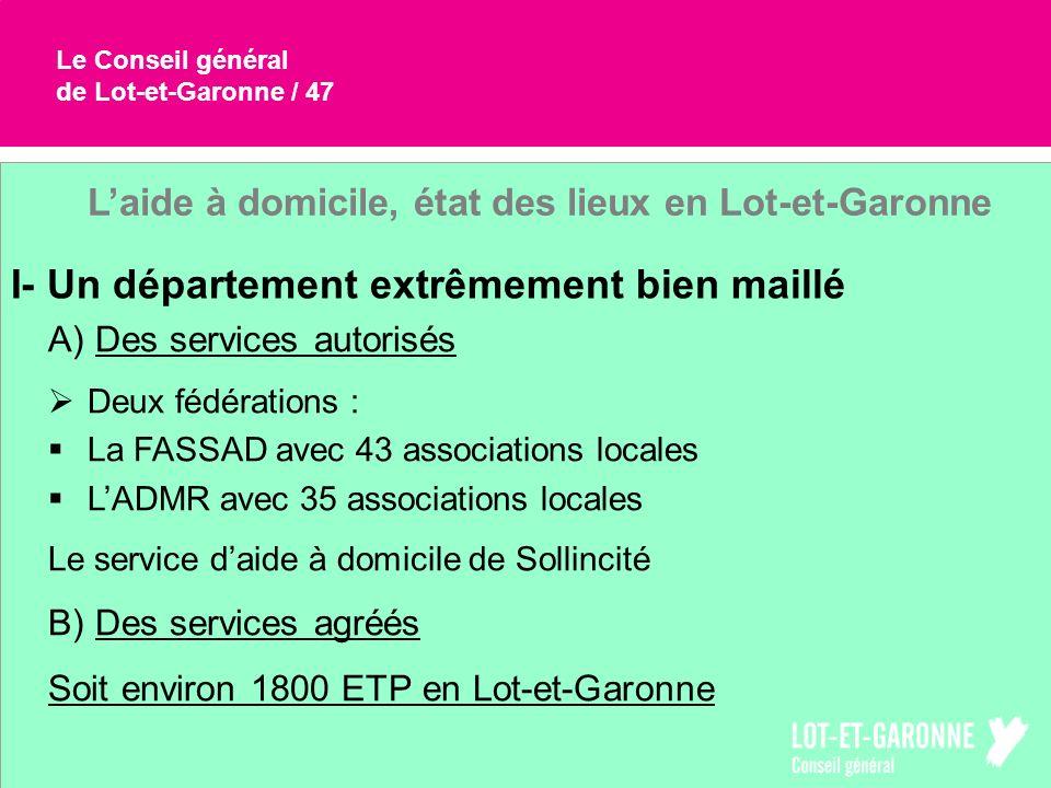 L'aide à domicile, état des lieux en Lot-et-Garonne