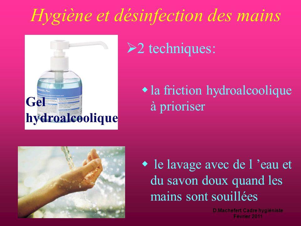 Hygiène et désinfection des mains