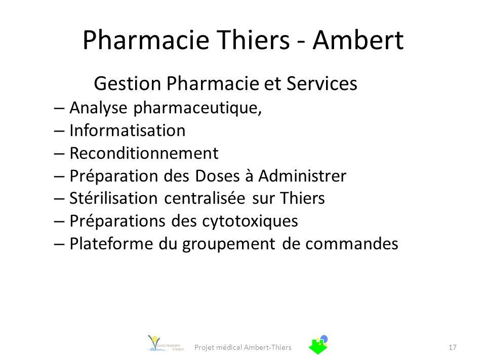 Pharmacie Thiers - Ambert