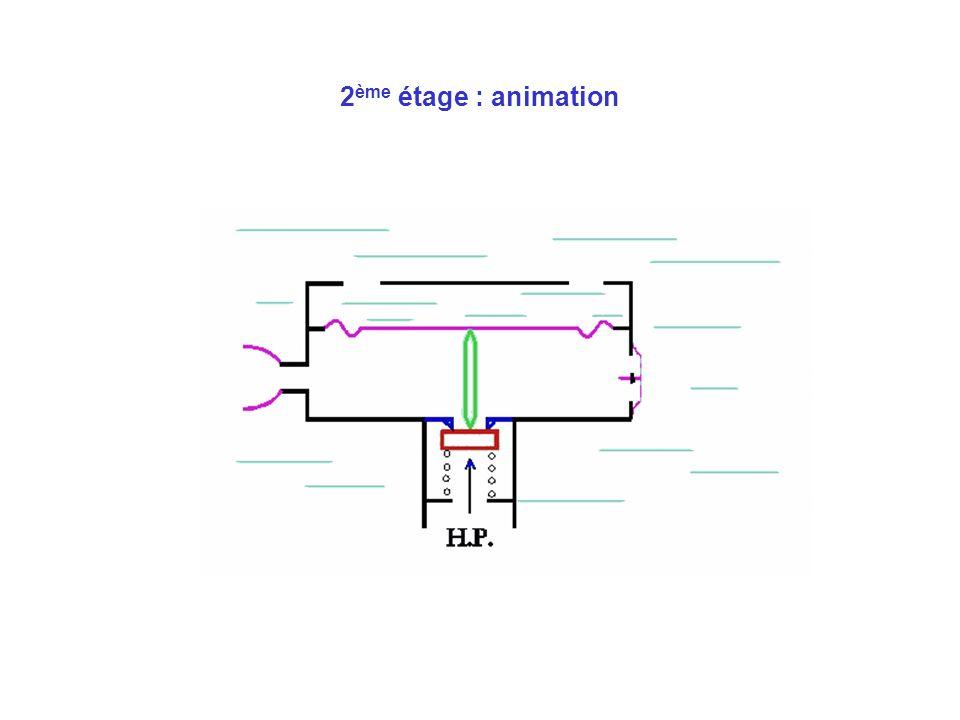 2ème étage : animation