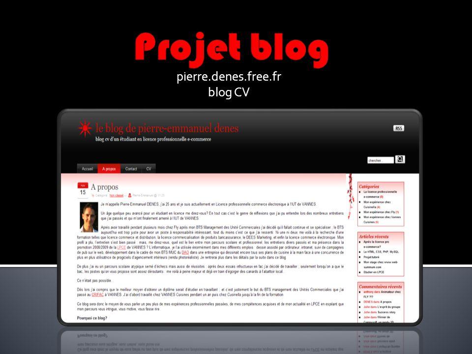 pierre.denes.free.fr blog CV