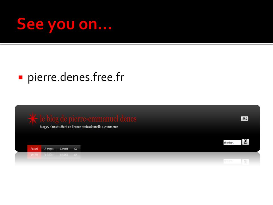 See you on… pierre.denes.free.fr