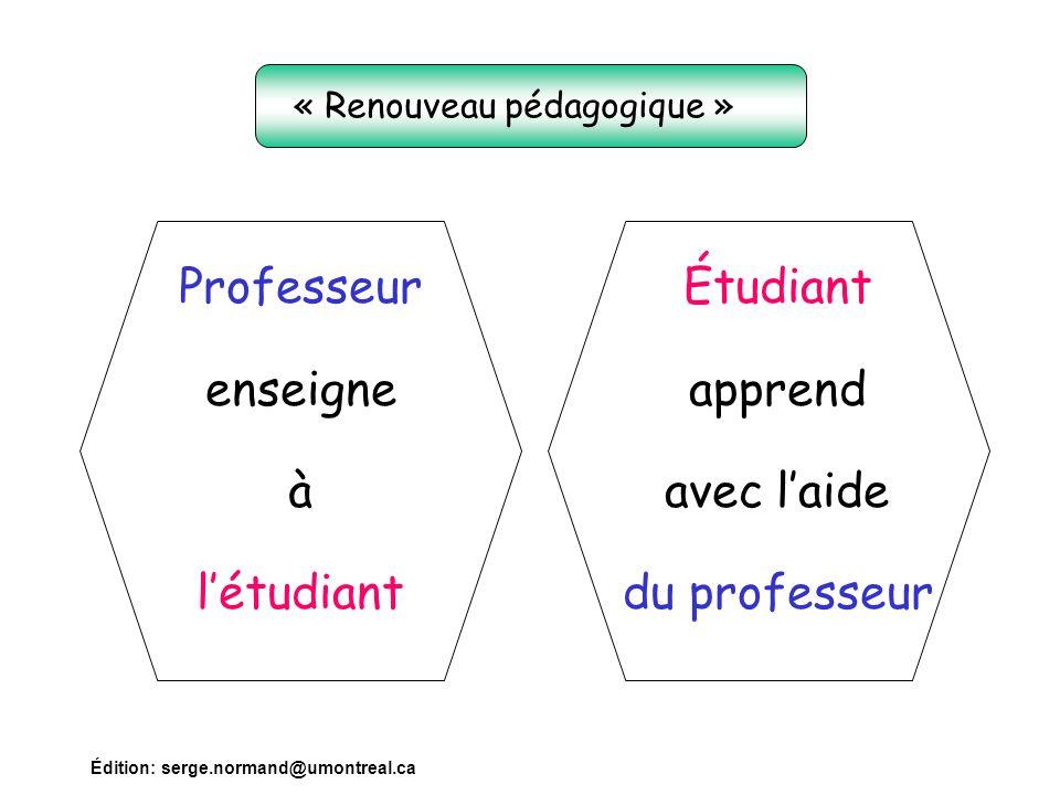 « Renouveau pédagogique »