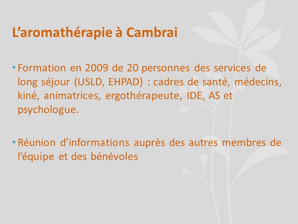 L'aromathérapie à Cambrai