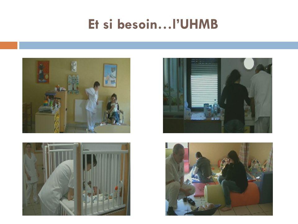 Et si besoin…l'UHMB