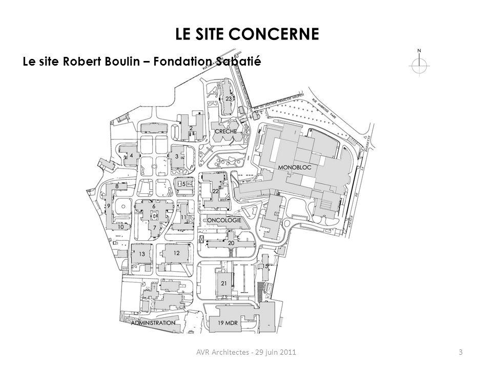 LE SITE CONCERNE Le site Robert Boulin – Fondation Sabatié