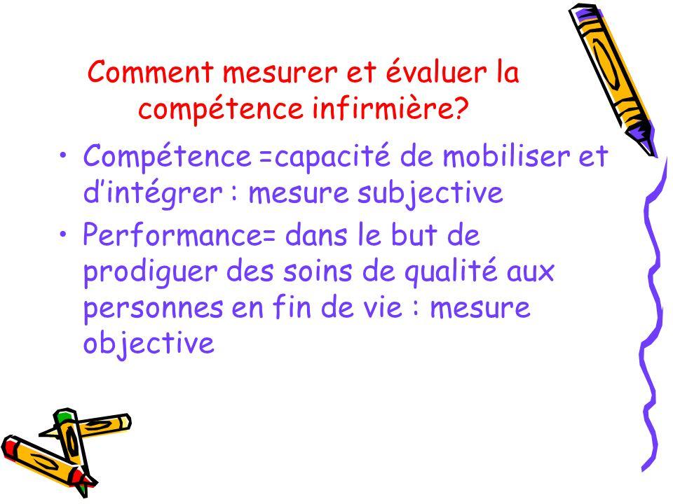 Comment mesurer et évaluer la compétence infirmière