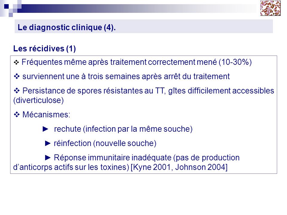 Le diagnostic clinique (4).