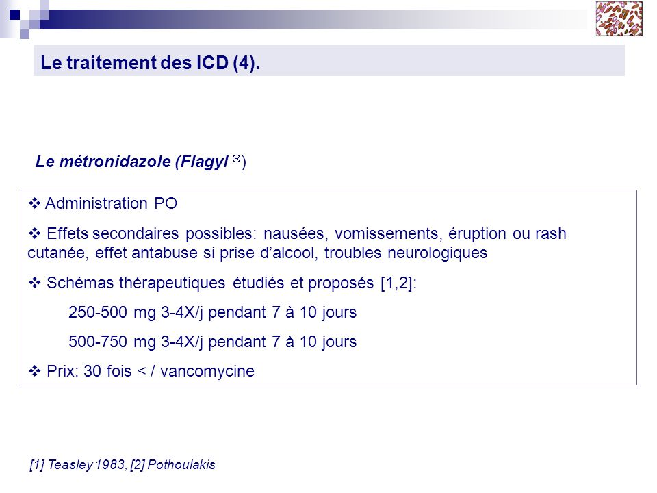 Le traitement des ICD (4).