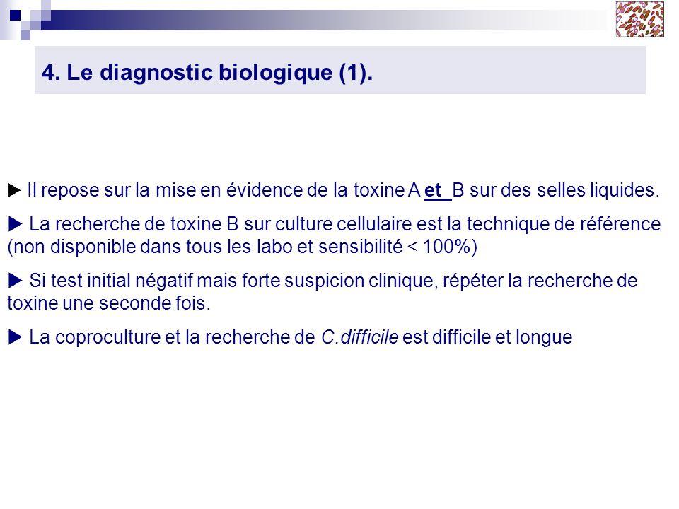 4. Le diagnostic biologique (1).