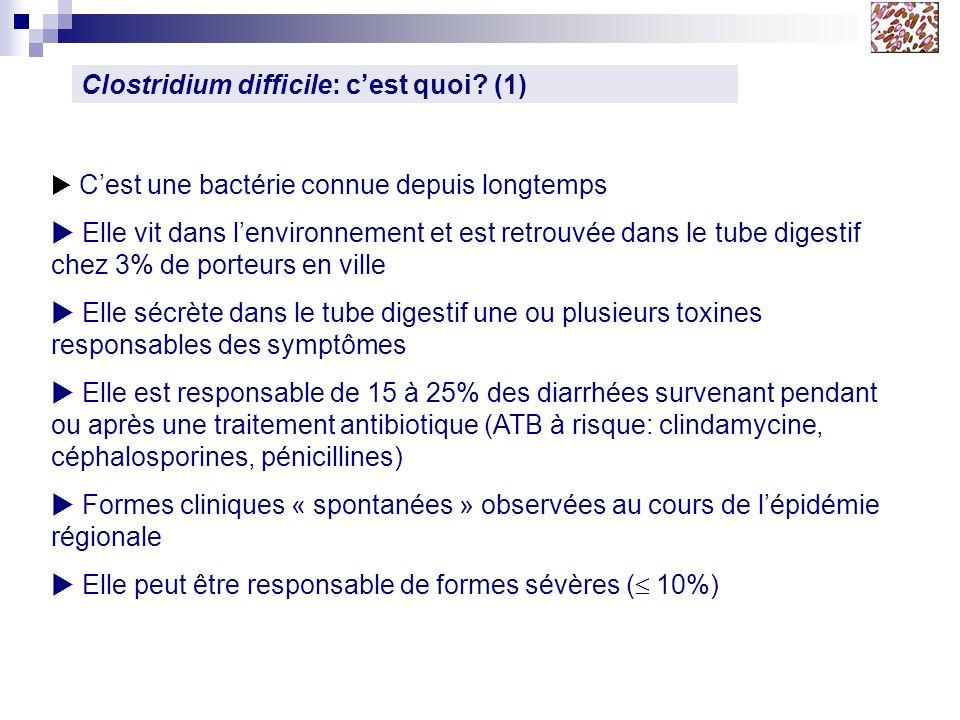 Clostridium difficile: c'est quoi (1)