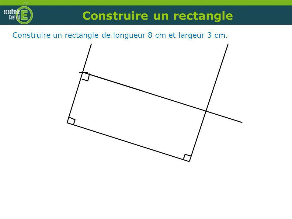 Construire un rectangle
