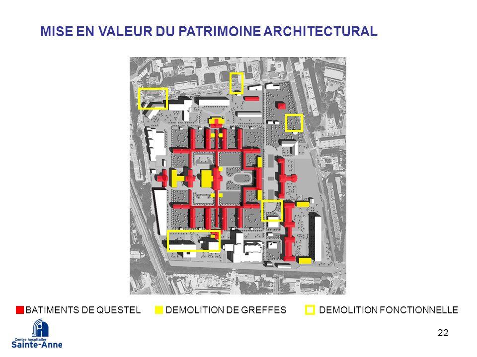 MISE EN VALEUR DU PATRIMOINE ARCHITECTURAL