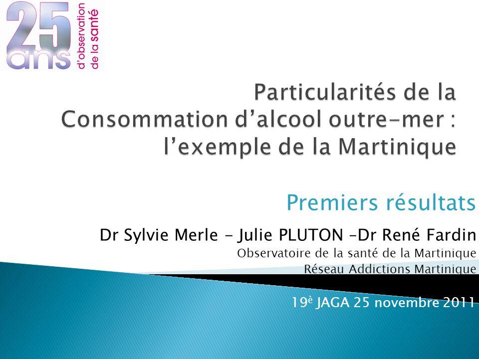 Particularités de la Consommation d'alcool outre-mer : l'exemple de la Martinique