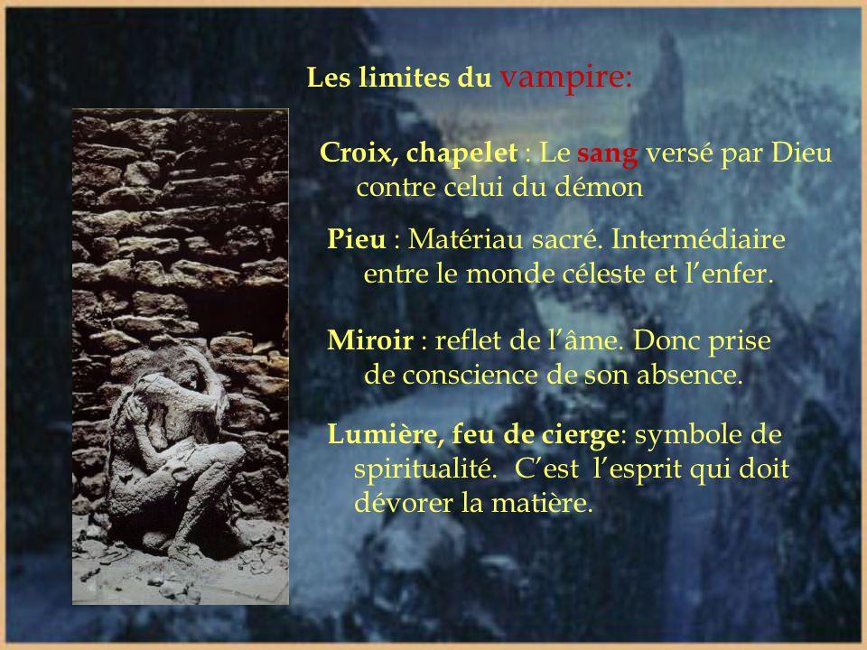 Les limites du vampire: