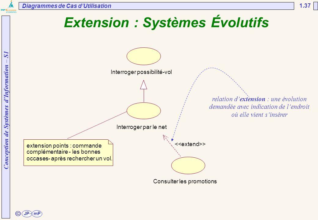 Extension : Systèmes Évolutifs