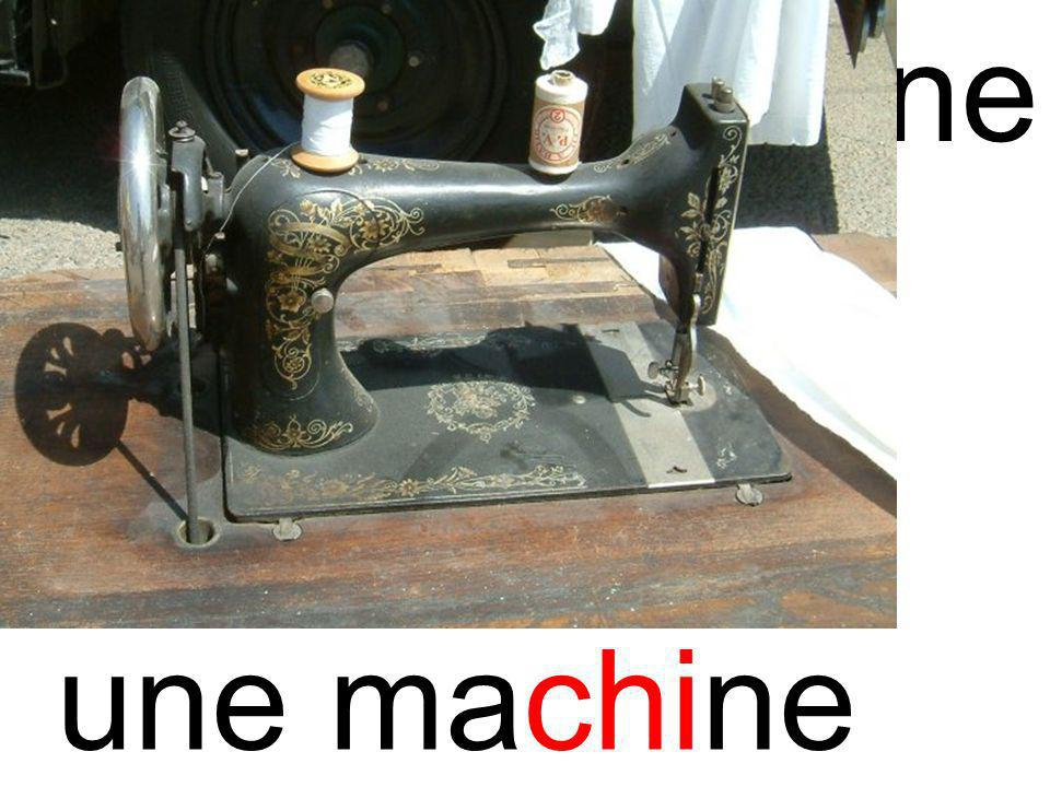chi machine une machine
