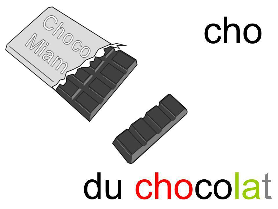 cho cho du chocolat