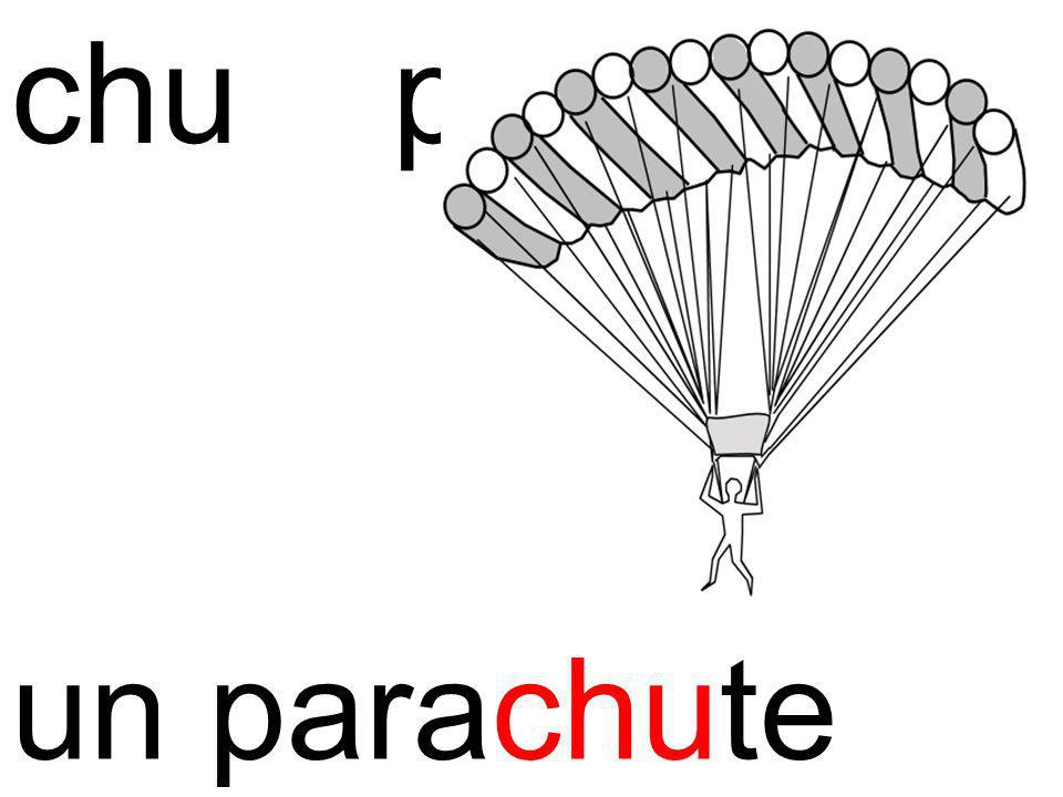 chu parachute un parachute