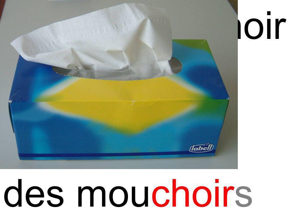 choi mouchoir des mouchoirs