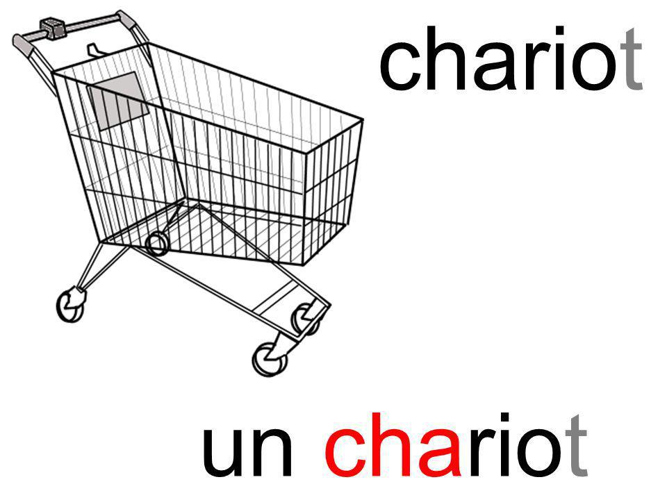 cha chariot un chariot