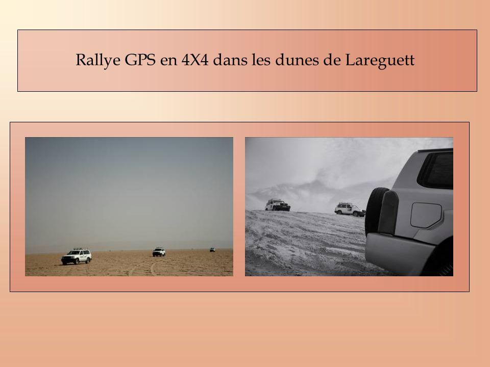 Rallye GPS en 4X4 dans les dunes de Lareguett