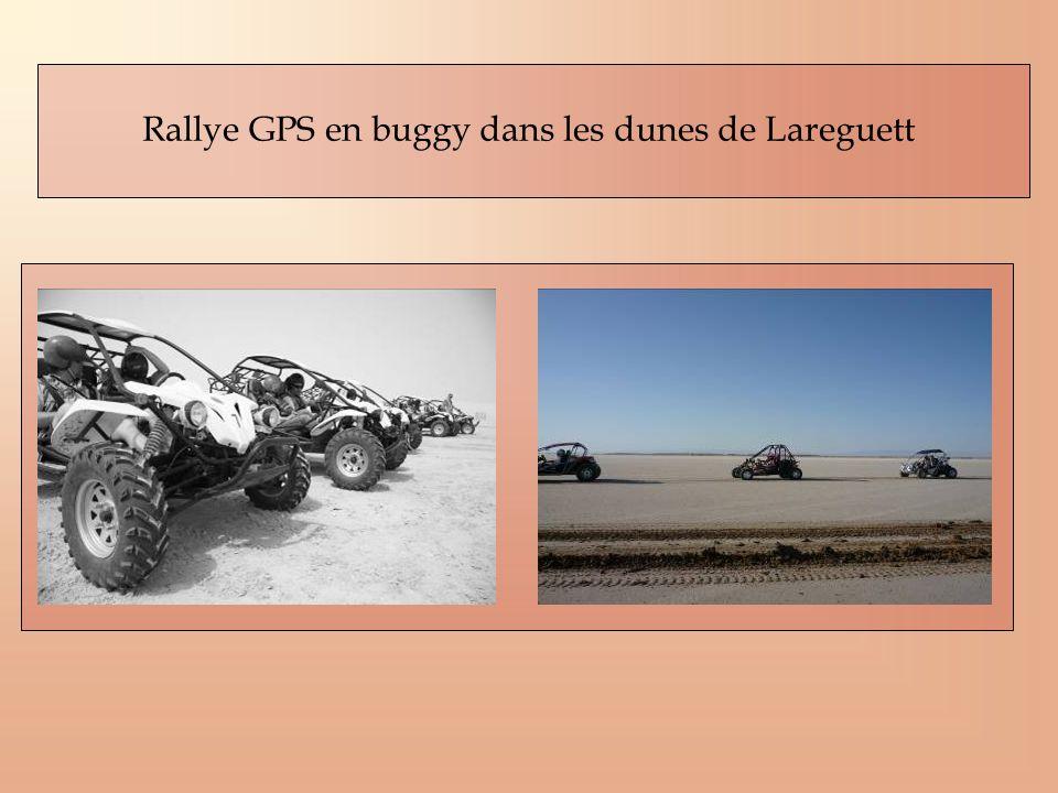 Rallye GPS en buggy dans les dunes de Lareguett