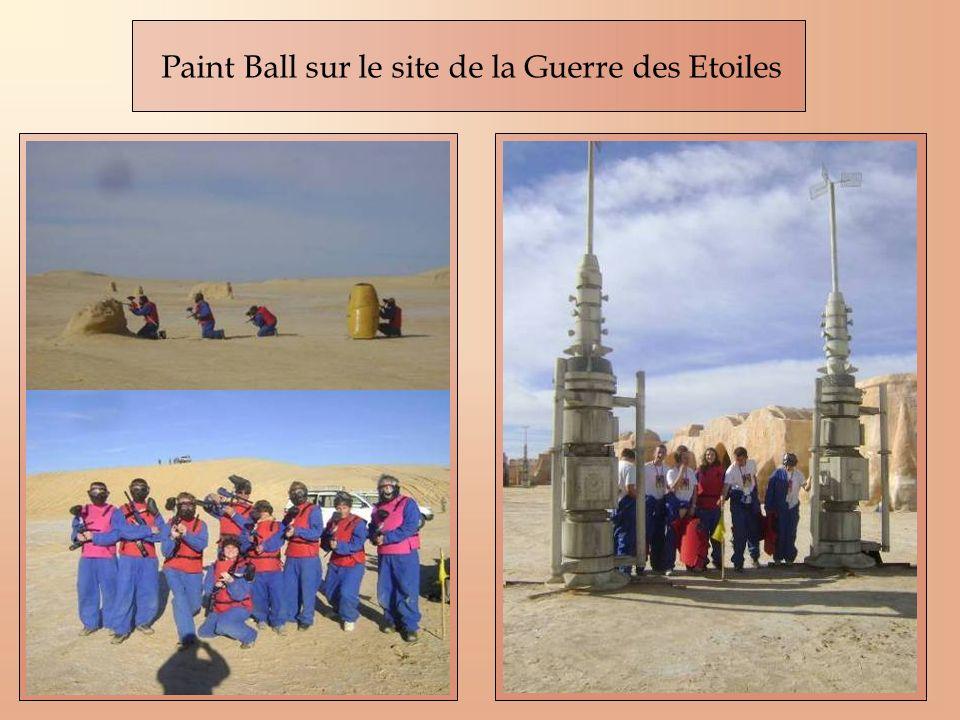 Paint Ball sur le site de la Guerre des Etoiles