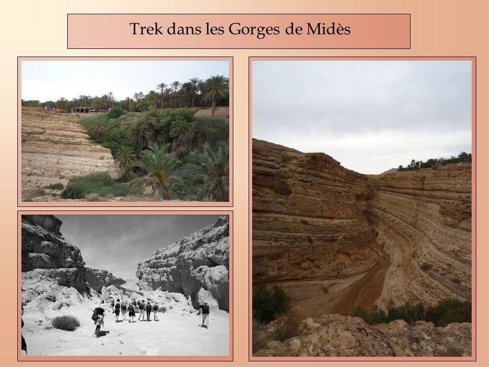 Trek dans les Gorges de Midès