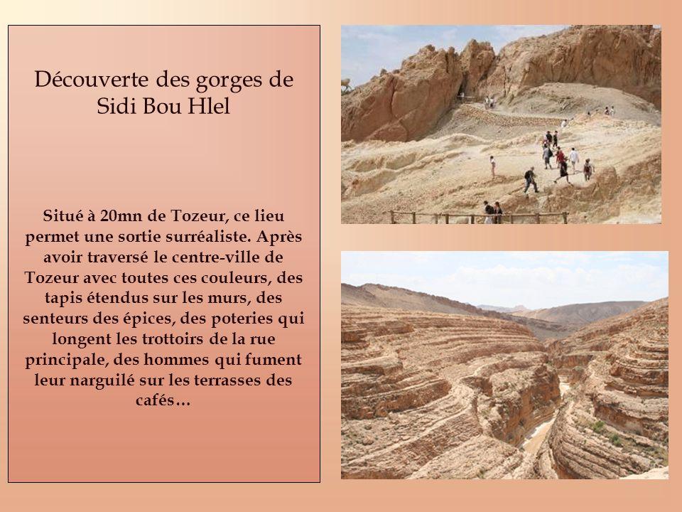 Découverte des gorges de Sidi Bou Hlel