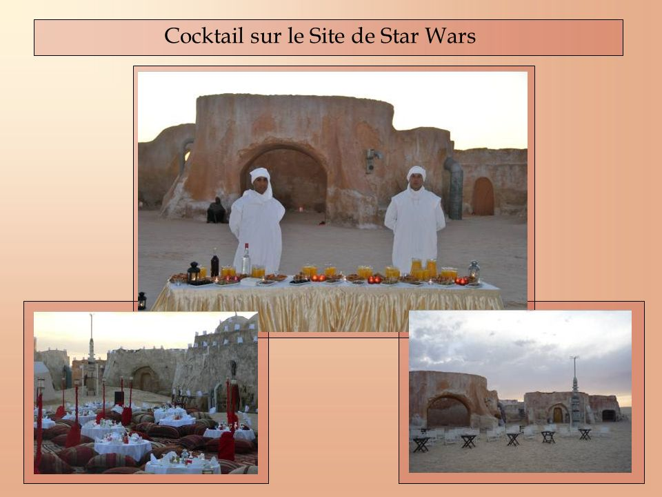 Cocktail sur le Site de Star Wars