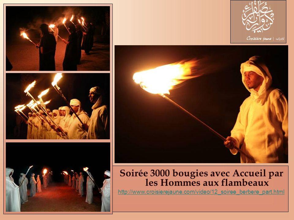 Soirée 3000 bougies avec Accueil par les Hommes aux flambeaux
