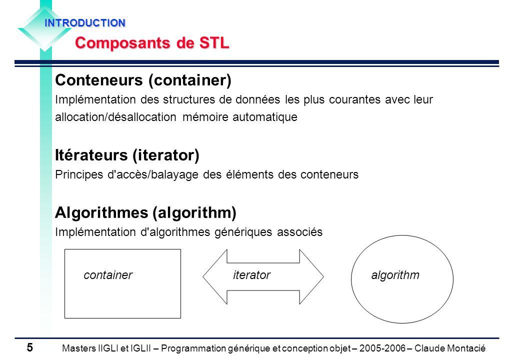 Conteneurs (container)