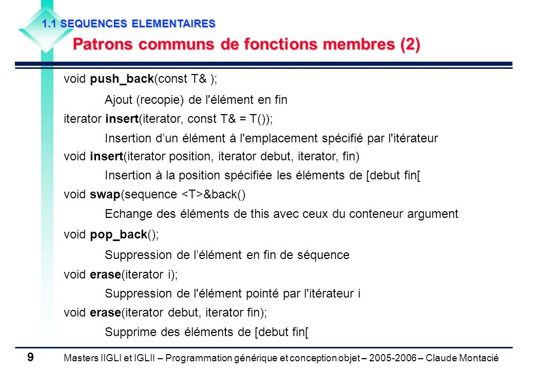 Patrons communs de fonctions membres (2)