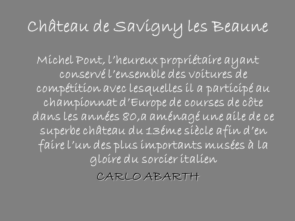 Château de Savigny les Beaune
