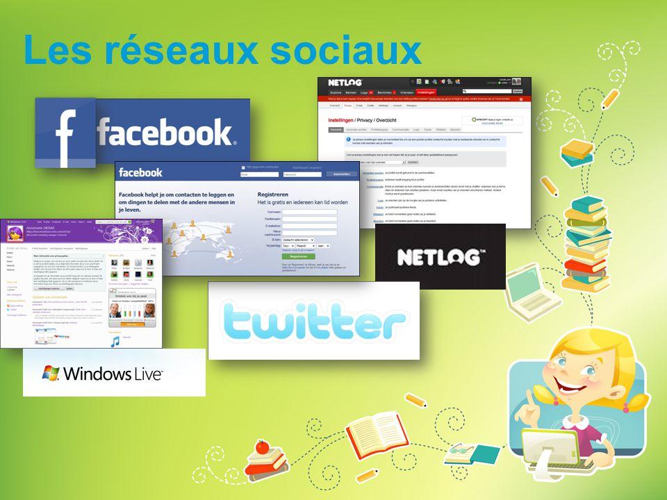 Les réseaux sociaux Demandez aux enfants s'ils utilisent des réseaux sociaux, et si oui lesquels.