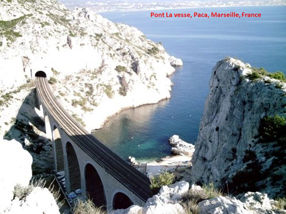 Pont La vesse, Paca, Marseille, France