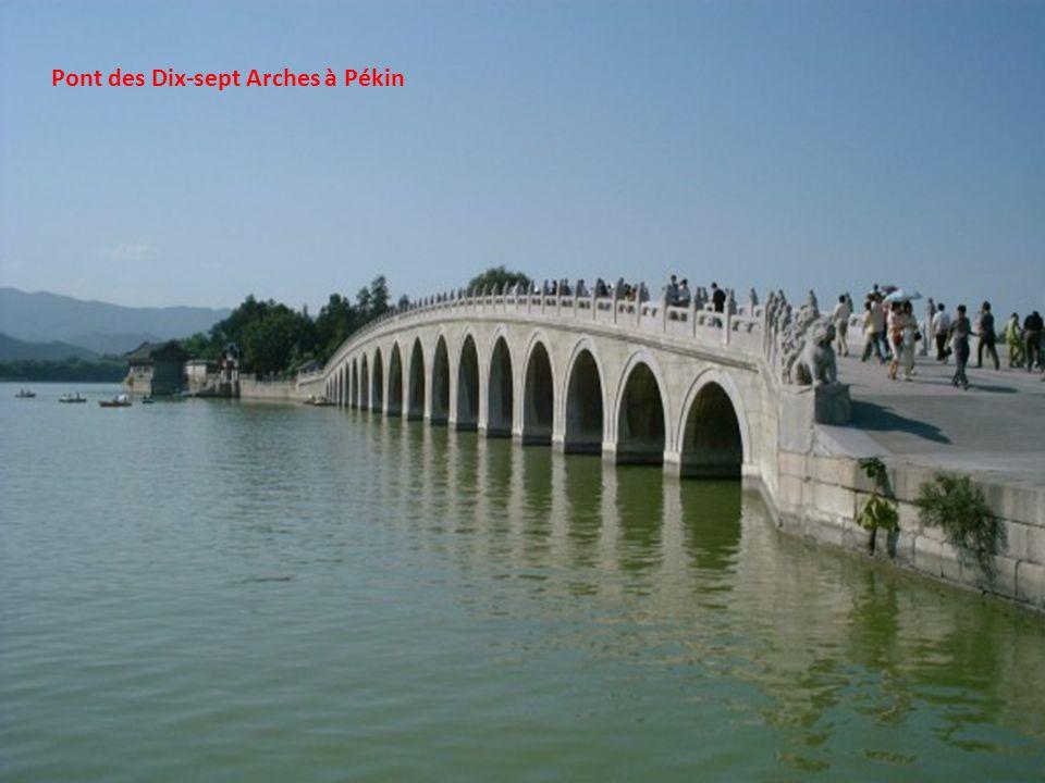Pont des Dix-sept Arches à Pékin