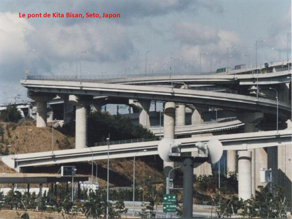 Le pont de Kita Bisan, Seto, Japon