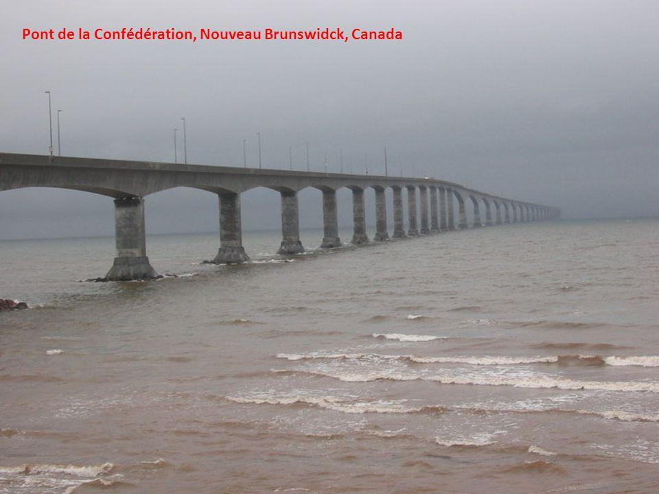 Pont de la Confédération, Nouveau Brunswidck, Canada