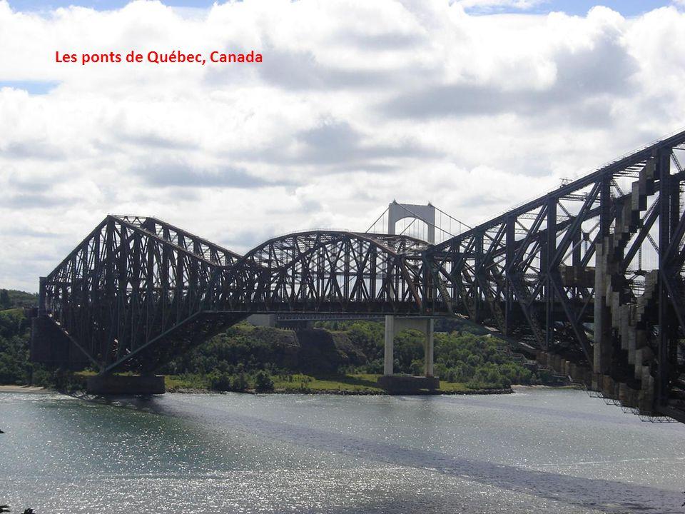 Les ponts de Québec, Canada