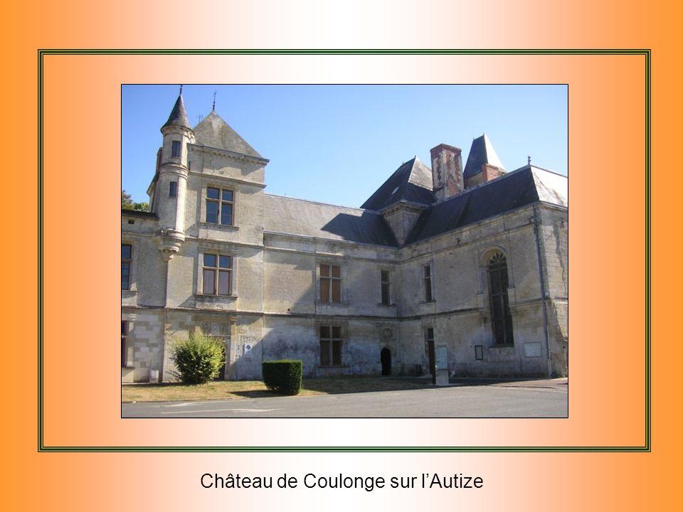 Château de Coulonge sur l'Autize