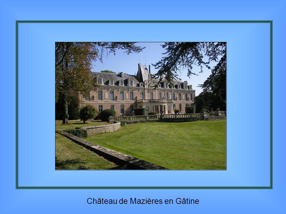 Château de Mazières en Gâtine