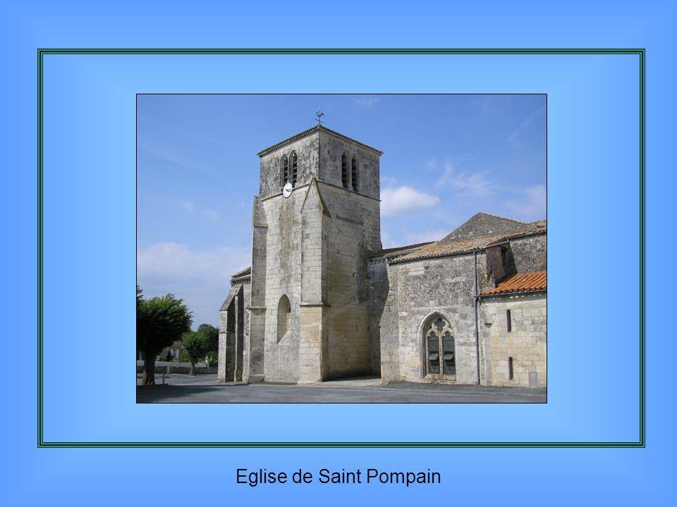 Eglise de Saint Pompain
