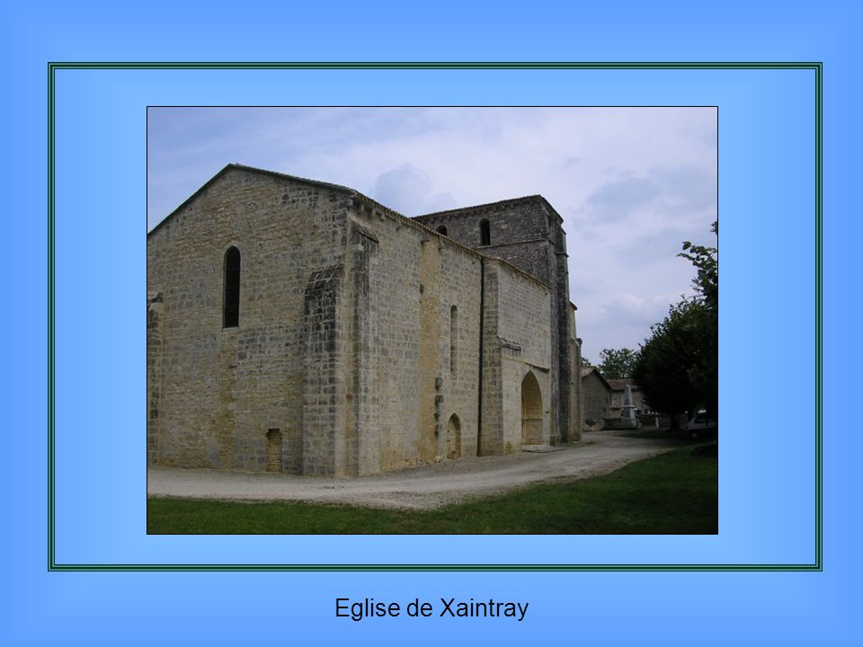 Eglise de Xaintray