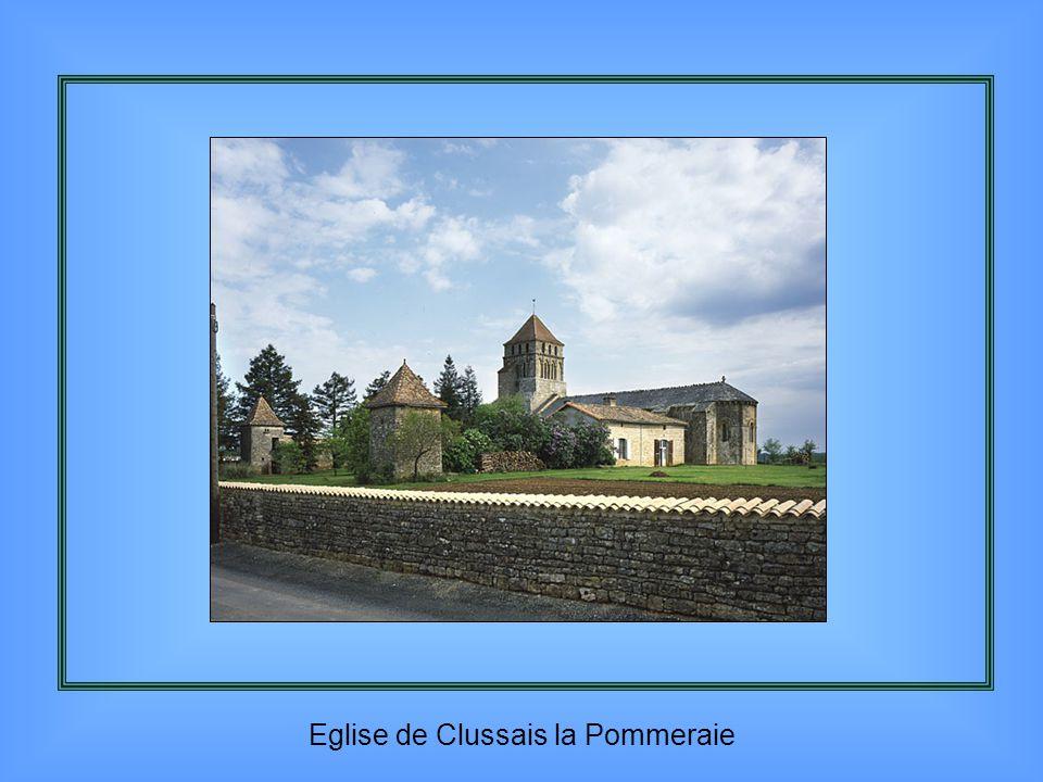 Eglise de Clussais la Pommeraie